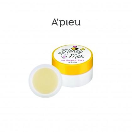 [A'pieu] Apieu Honey & Milk Lip Sleeping Pack 6.7g