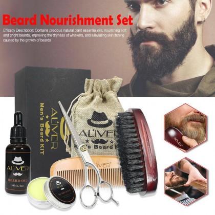 ALIVER Men's Beard Kit